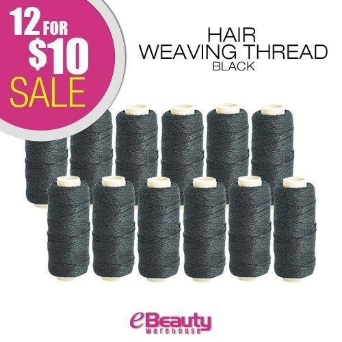 12 for $ 10 combo deal! Weaving Thread (Black)