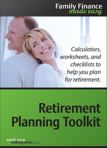 Retirement Planning Toolkit Deluxe 1.0 [Download] by Made Easy Enterprises LLC