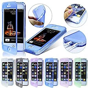 JAJAY- TPU Touch Screen Dust Proof Case for iPhone 4/4S (Assorted Colors) , Rose