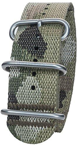 Bertucci DX3 B-147 26mm Camo 2-Ply Multicam w/nano Nylon Watch Band