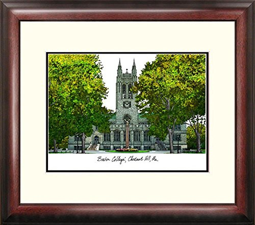 Boston College BC Framed Lithograph Print by Landmark Publishing