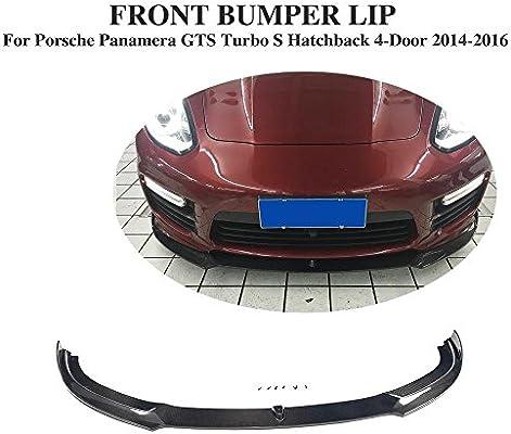 Jcsportline Carbon Fiber Front Chin Spolier fits Porsche Panamera GTS Turbo S 2014-2016
