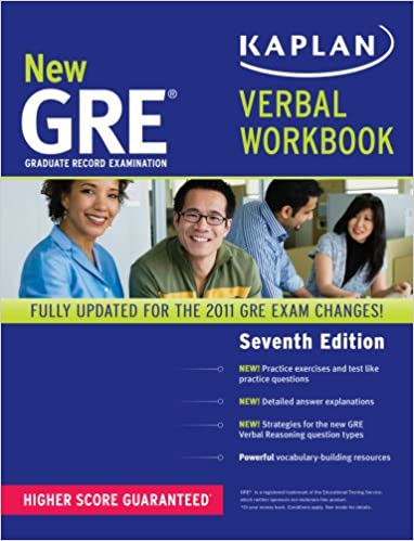 Pdf edition kaplan gre new workbook verbal 7th