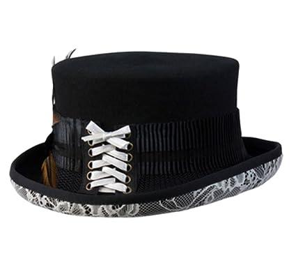 Amazon.com  Conner Hats Victorian Steam Punk Top Hat C1062-1  Clothing 93f0707935f2