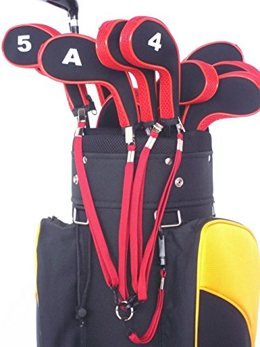 A99 Golf Leash Strap 4 II Black with Bag Strap Red by A99 Golf (Image #3)