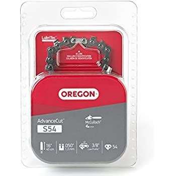 Oregon 16-Inch Semi Chisel Chain Saw Chain Fits McCulloch S54 (Discontinued by Manufacturer)