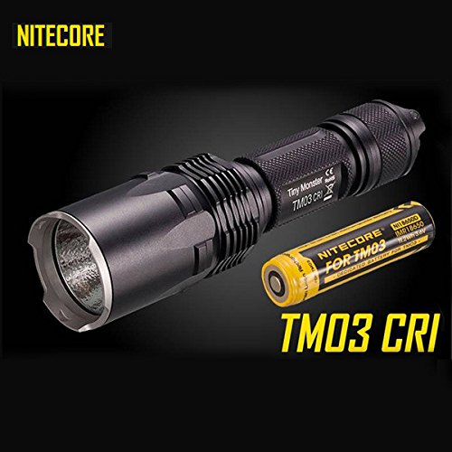 Nitecore TM03 CRI XHP70 2600LM Tactical LED Flashlight With 18650 Battery by KAMOLTECH (Image #7)