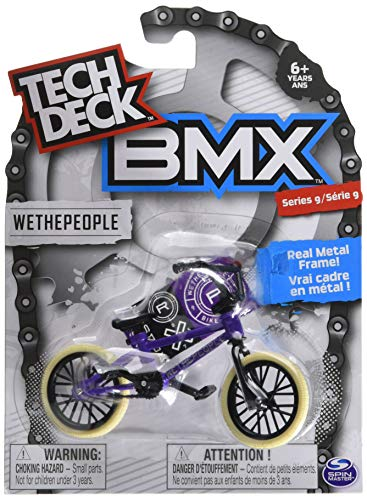 Tech Deck BMX Series 9 WETHEPEOPLE Purple Finger Bike - 20103167