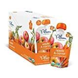 Amazon Price History for:Plum Organics Stage 2, Organic Baby Food, Apple and Carrot, 4 ounce pouch (Pack of 12)