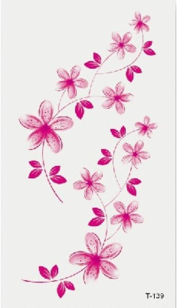 Pequeñas pegatinas de tatuajes frescos Letras en inglés niños ...