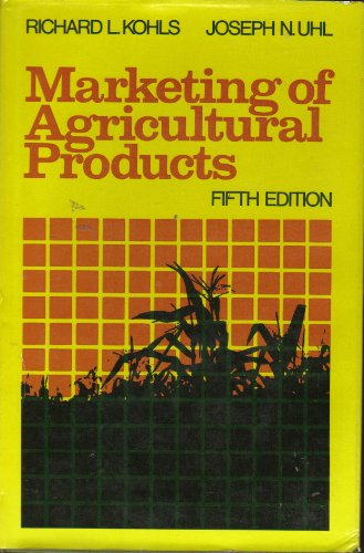 Marketing Agricultural Products