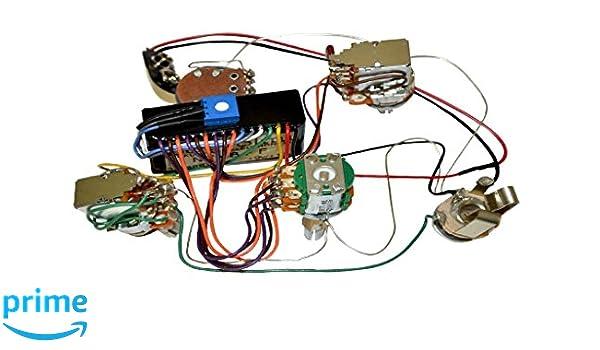 amazon com bartolini hr 4 6ap 918 preamp harness 3 band eq w 4 rh amazon com