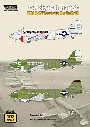 Wolfpack 1:72 C-47 Skytrain Part.2 USAF Fleet to Berlin for sale  Delivered anywhere in USA