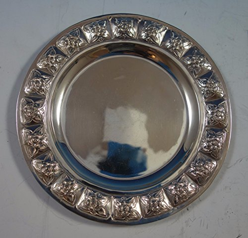 (Aztec Rose by Maciel Mexican Sterling Silver Bread and Butter Plate 6