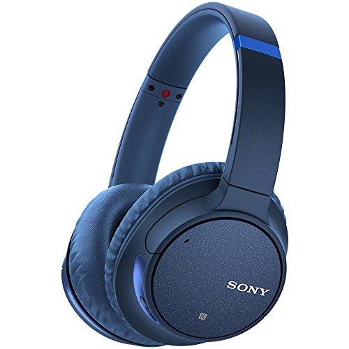 Sony WH-CH700N Wireless Noise Canceling Headphones, Blue (WHCH700N/L) ()