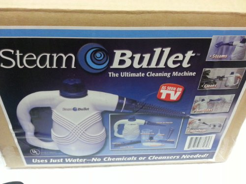 Steam Bullet. The Ultimate cleaning machine as seen on T.V by tvinventions.com
