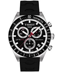 Tissot VELOCI-T T0244172705100 - Reloj de caballero de cuarzo, correa de goma color negro