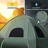 Tangkula 1-Person Tent Cot, Foldable Camping Tent