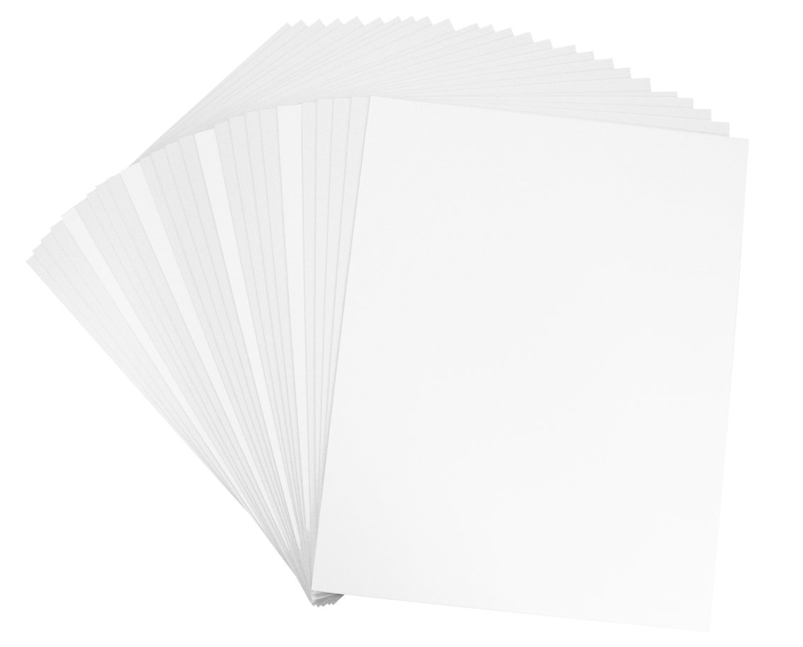 Golden State Art, Pack of 50, 8x10 Backerboards - Set Contains 50 Backing Boards Only