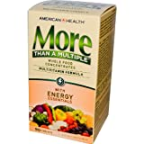 American Health - More Multivitamin. 90 Tabs (4 Bottles)