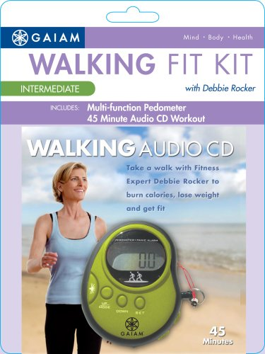 Gaiam Pedometer Audio Intermediate Level