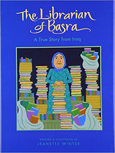 The librarian of basra a true story from iraq jeanette winter the librarian of basra a true story from iraq jeanette winter 9780152054458 amazon books fandeluxe Images