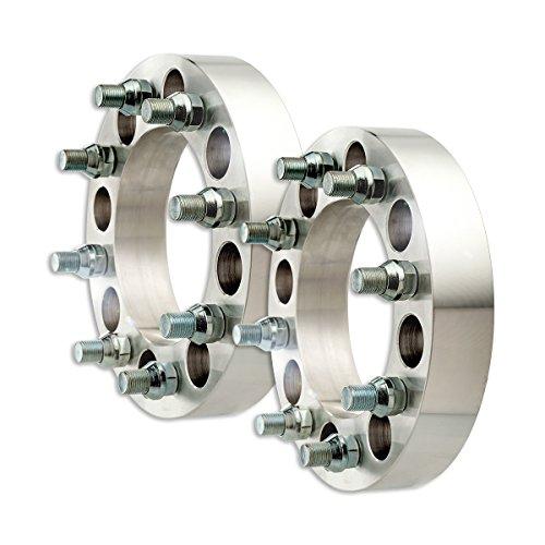 (DPAccessories WA3030C39126/2 2 Billet Wheel Spacer Adapters - 8x165.1/8x6.5-1.5