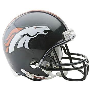 Denver Broncos Mini casco oficial de la NFL Riddell