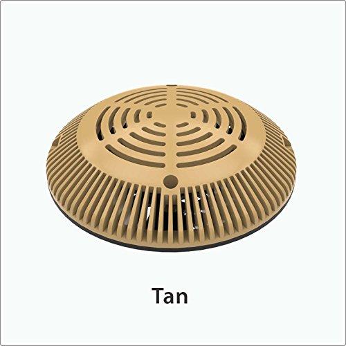 Pool Main Drain (8-inch VGB Retro-Fit Universal Drain Cover & Adaptor Plate (Tan))