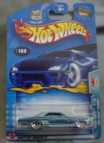 Hot Wheels 2003 Pride Rides 1/10 1964 Buick Riviera #133 BLUE