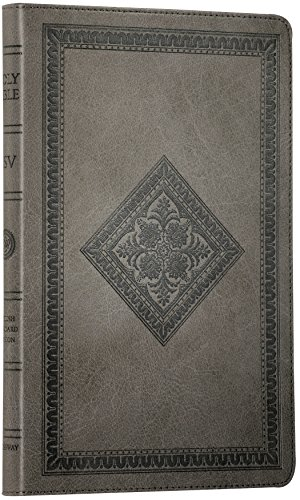 (ESV Thinline Bible (TruTone, Gray, Diamond Design) (Thinline TruTone))