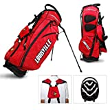 Louisville Cardinals Team Golf Fairway Light 14-Way Top Golf Club Stand Bag