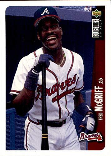 1996 Collector's Choice #45 Fred McGriff Atlanta Braves MLB Baseball Card