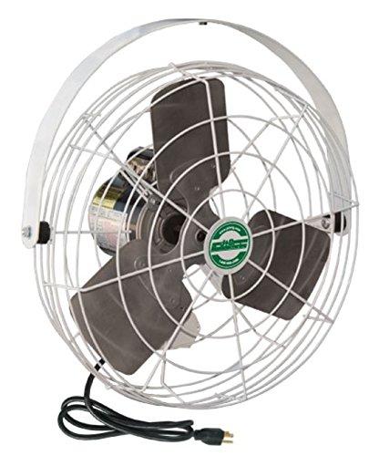 J&D Manufacturing VS183 HAF Stir Fan with Wide Guard, 18'' Diameter, 115V, 1/8 hp, 9' Cord, 3 Speed
