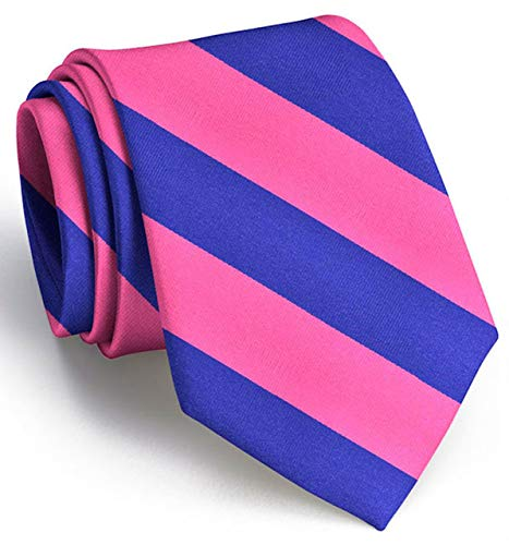 (Mens Tie - Hand Drawn Neckties - Clarkson Stripe - Bird Dog Bay Ties for Men Designed and Drawn by Steve Mayer)
