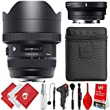 Sigma 12-24mm f/4 DG HSM Art Lens for Canon EF with MC-11 for Sony E Mount Digital SLR Cameras for Alpha a7 a7R II a7S II a7 II a7 III a7R III a9 A6500 A6300 A6000 NEX 5 NEX 6 NEX 7