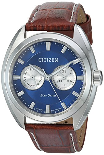 Citizen Men's Eco-Drive Stainless Steel Watch with Day/Date, BU4010-05L ()