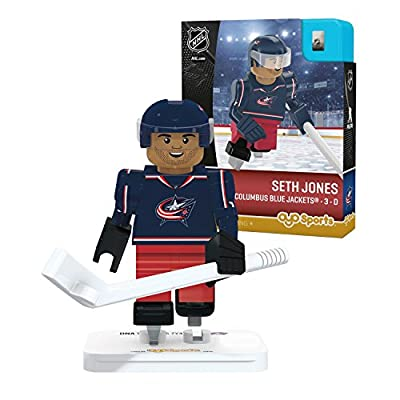 OYO Sports NHL Minifigure Columbus Blue Jackets Seth Jones