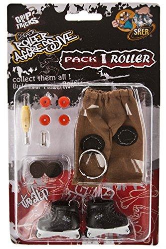 Finger Skate - Roller Aggressive Pack1 - Grip & Tricks - Dimensions: 22 X 13,5 X 2 Cm (Aggressive Roller Skates)