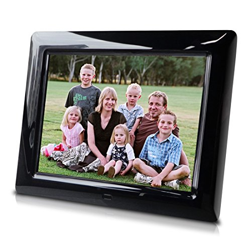 8 Inch Digital Photo Frame, transitional effects, Hi-resolution slideshow, interval time adjust - Great Gift