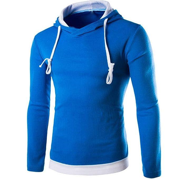b3b2cb9d4a23 Hoodies Herren Pullover Herbst Winter Kapuzenpullover Retro Jumper mit Kapuze  Btruely Langarm T-Shirt Hooded