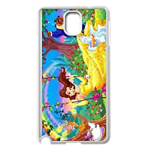Samsung Galaxy Note 3 Phone Cover White beauty and the beast0 EUA15970449 Reiko Cell Phone
