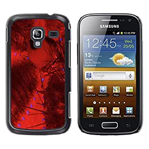 - Ocean Seas - - Hard Plastic Protective Aluminum Back Case Skin Cover FOR Samsung GALAXY Ace 2 I8160 Queen Pattern