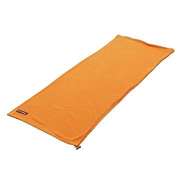 Comodidad transpirable suave adulto bolsa de dormir y guardar los sacos de dormir de polar/[Fleece bolsa de dormir puede ser acomodado]-B: Amazon.es: ...