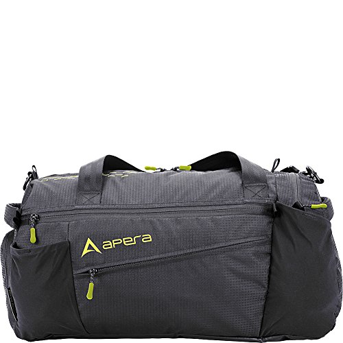 Apera Sport Duffel Bag, Graphite (Titanium Duffel)