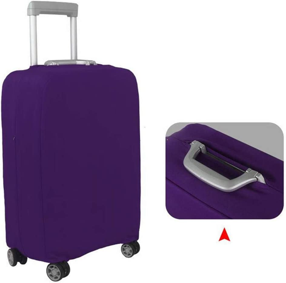 Drasawee Elastic Suitcase Cover Travel Luggage Protector Anti-Scratch Stretchy Protector 5# L 34-35