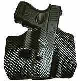 Black Carbon Fiber OWB Holster (Right-Hand, Glock 17,19,22,23,25,26,27,28,31,32,34,35,41)