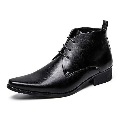selección premium 98e36 ff52b Shufang-shoes - Botas Tobilleras para Hombre, Informales ...