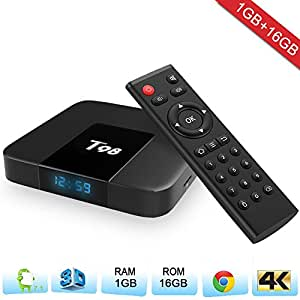 Zenoplige T98 Android TV Box Android 7.1 Marshmallow 1G