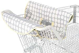 Comfort and Harmony Cool Wazoo 4-in-1 Neoprene Cart Cover, Grey Dot